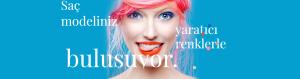 Saç modeliniz yaratıcı renkler ile buluşuyor
